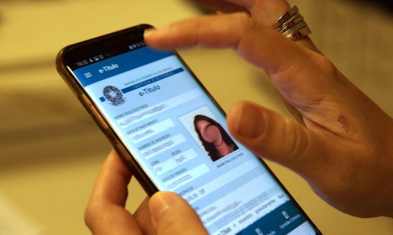 Marcello Casal Jr/Agência Brasil - App e-Título disponibiliza versão digital do título de eleitor