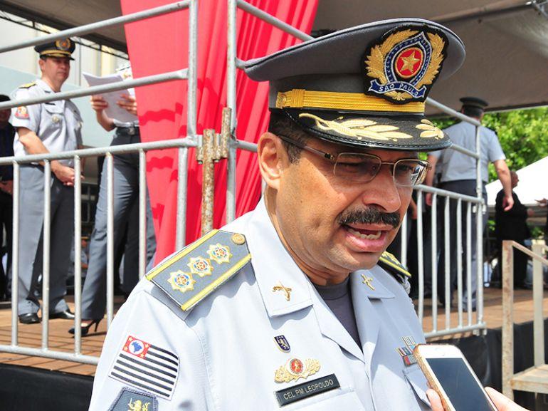 Arquivo - Coronel Leopoldo está internado há mais de uma semana