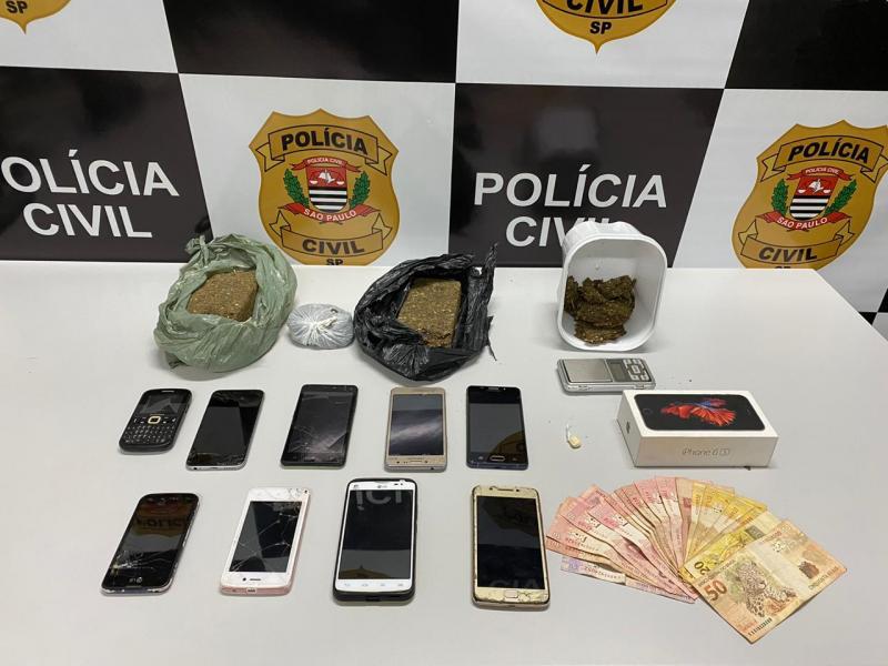 Polícia Civil - Análises nos aparelhos mostrara que grupo atuava de maneira associada