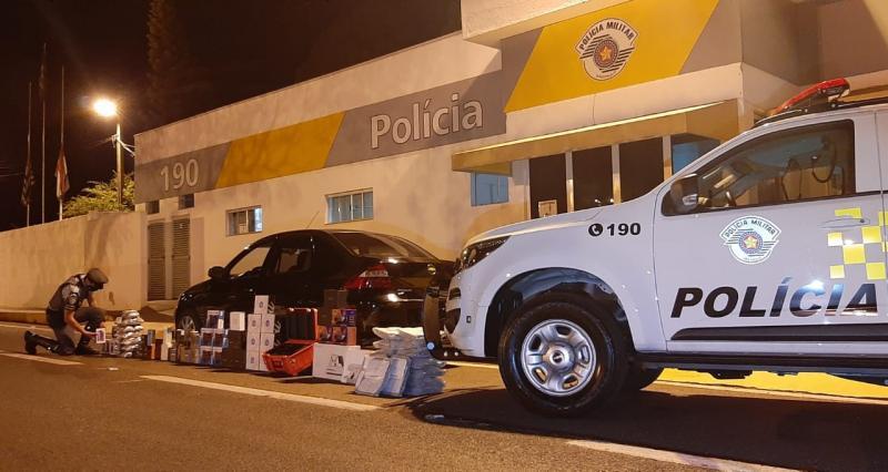 Polícia Militar Rodoviária - Demonstração de nervosismo gerou suspeita do trio