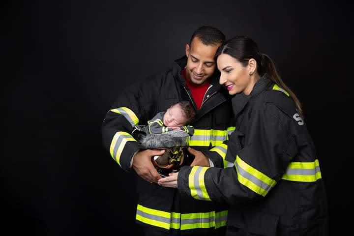Cedida/Iandra Moraes - Benício, filho de Lucas e Carla, nasceu no final de junho