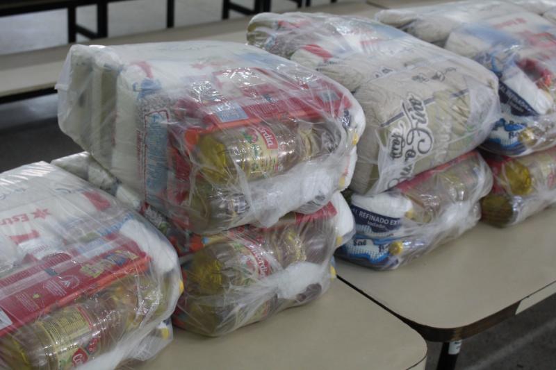 Mariana Padovan - Nesta terça, retirada das cestas ocorre em cinco unidades escolares
