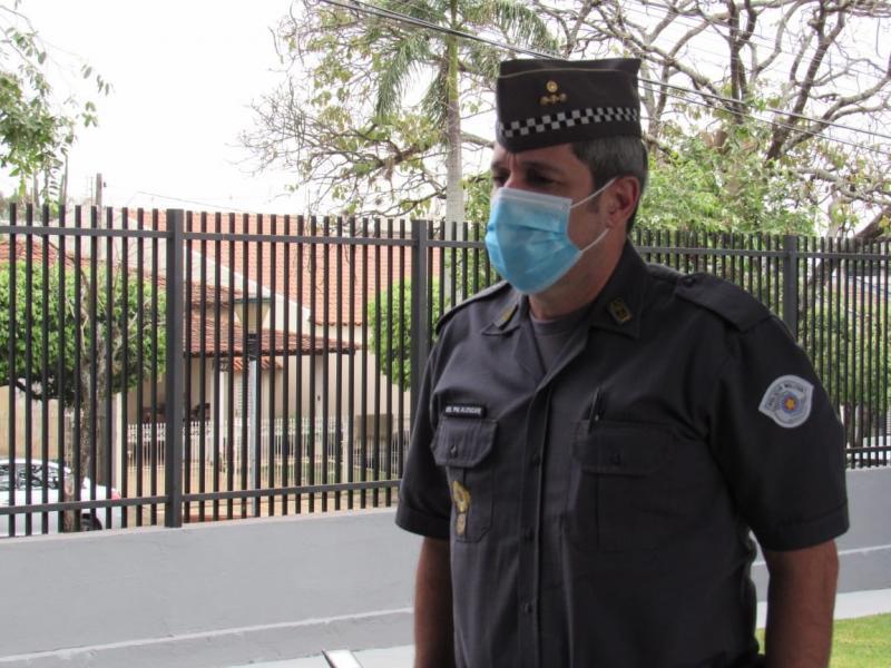Polícia Militar - Coronel oficializou a reinauguração do batalhão