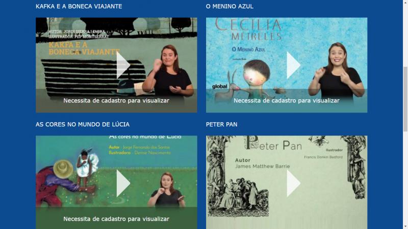 Divulgação - Secretaria disponibiliza 13 obras literárias acessíveis nos seus mais variados formatos