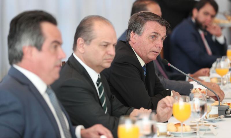 Marcos Corrêa/PR - Encontro visa alinhar as próximas ações do governo na área econômica