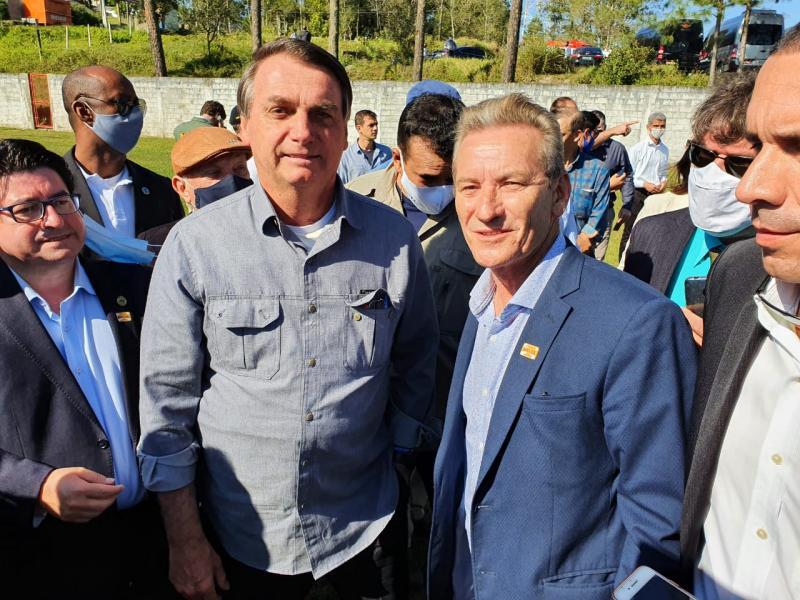 Deputado disse que foi agradecer recursos destinados pelo governo federal para o oeste paulista e para o Estado