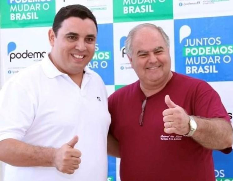Reprodução - Juliano Borges e Wadir Olivetti concorrem ao cargo majoritário em Prudente