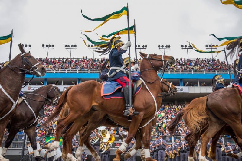 Polícia Militar - Independência do Brasil comemora 198 anos