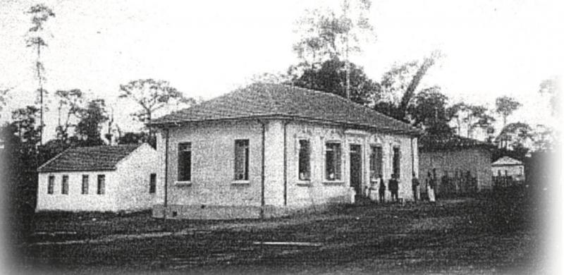 Residência do coronel Francisco de Paula Goulart, em 1924