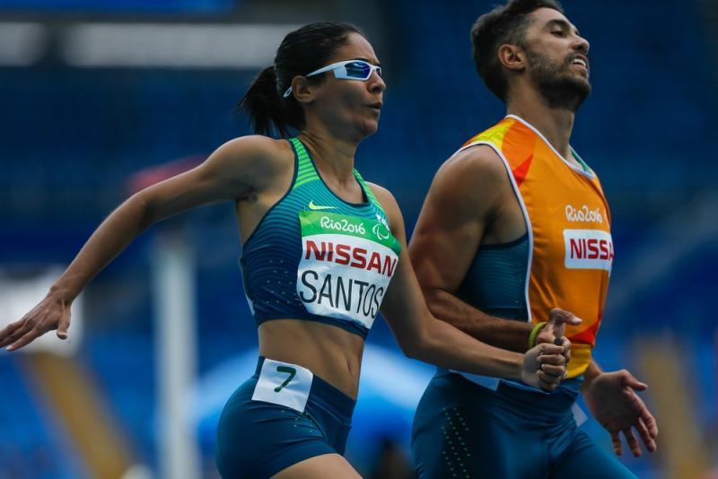 Comitê Paralímpico Brasileiro / Divulgação - Jerusa faz qualquer um arrepiar cada pelo do corpo assistindo suas provas