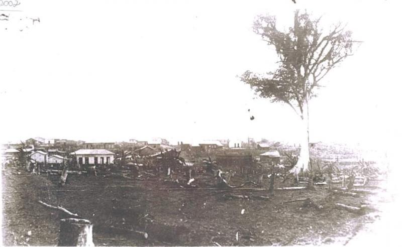Acervo Museu e Arquivo Histórico prefeito Antônio Sandoval Neto - Fotografia da Vila Goulart, registrada em 1920: é o princípio de Prudente