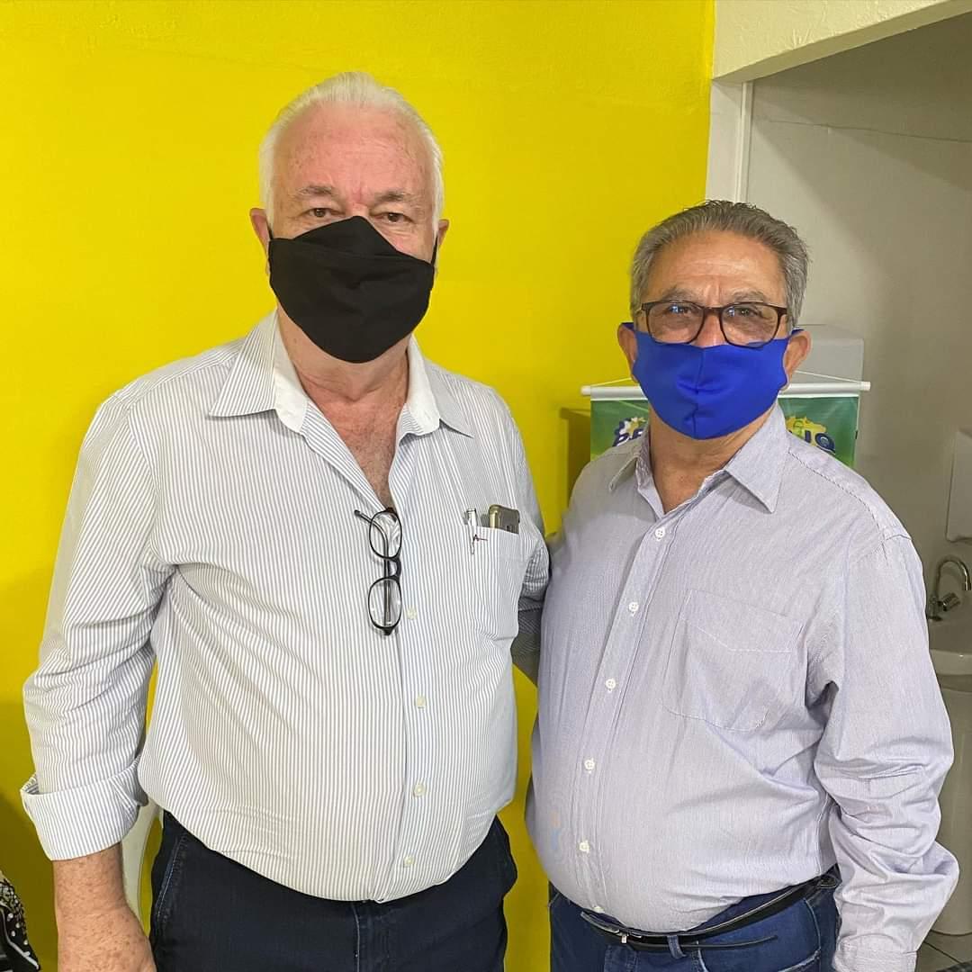 Cedida - João Figueira e Arnaldo Gonino concorrem ao cargo majoritário em Prudente