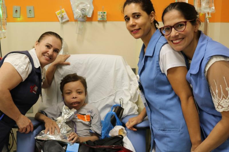 Cedida - Leandro, como era mais chamado, tinha uma rotina hospitalar intensa