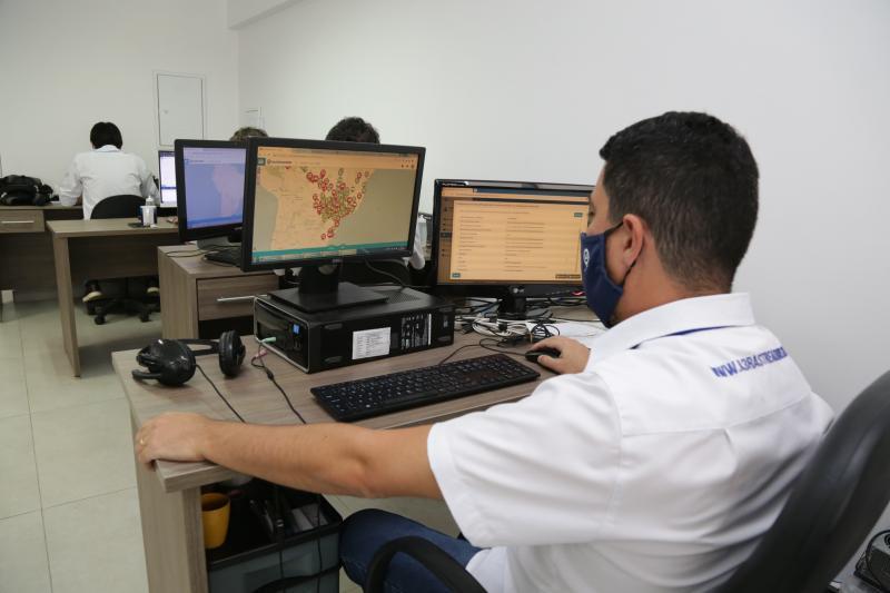 Weverson Nascimento - Equipamento é monitorado durante 24 horas, sem interrupções