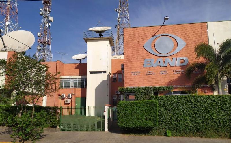 Cedida/TV Band Paulista - Debate ocorrerá na sede da TV Band Paulista em Prudente