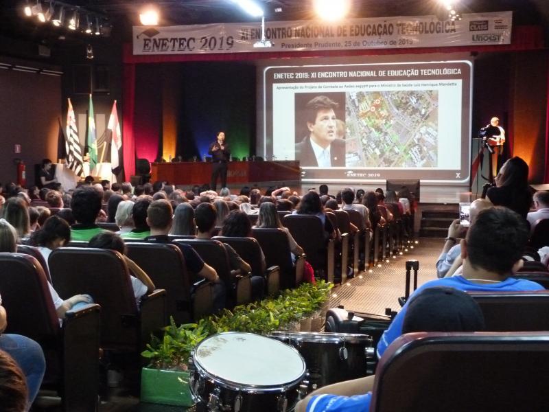 Cedida - Até ano passado, evento ocorreu no formato presencial, no teatro César Cava