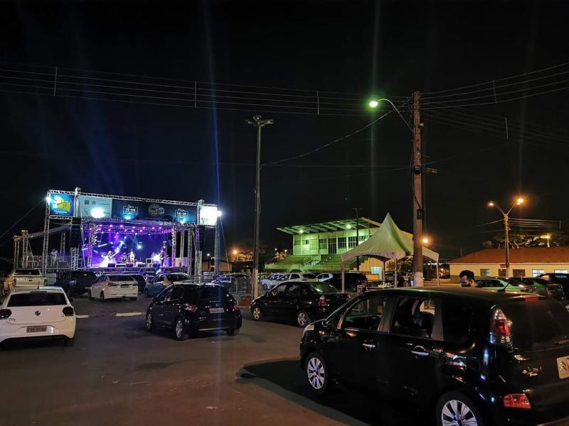 Secult - Evento deste ano contou com atrações locais nos shows drive-in, realizados no Recinto de Exposições