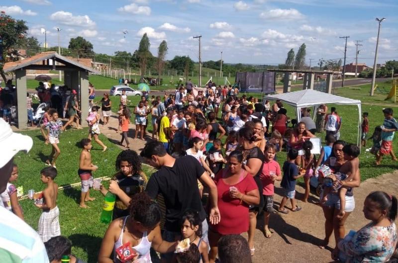Cedida - Mais de 1 mil crianças devem ser presenteadas com doces e refrigerantes; interessados podem contribuir