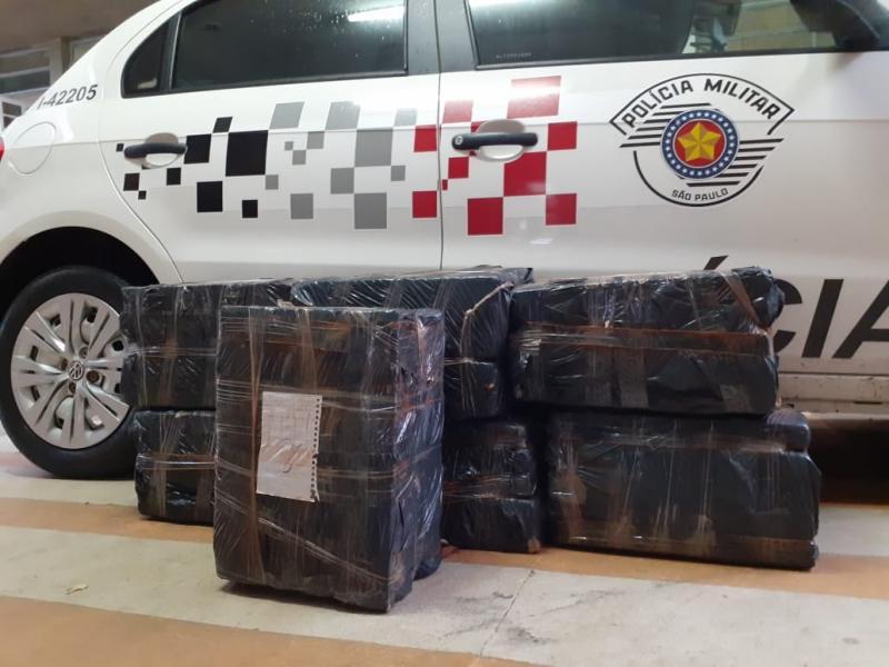 Polícia Militar - Drogas estavam em uma mala e também na casa dos investigados