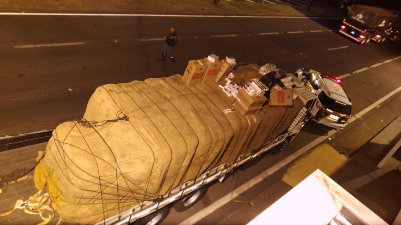 Polícia Militar Rodoviária - Abordagem ocorreu na Rodovia Raposo Tavares
