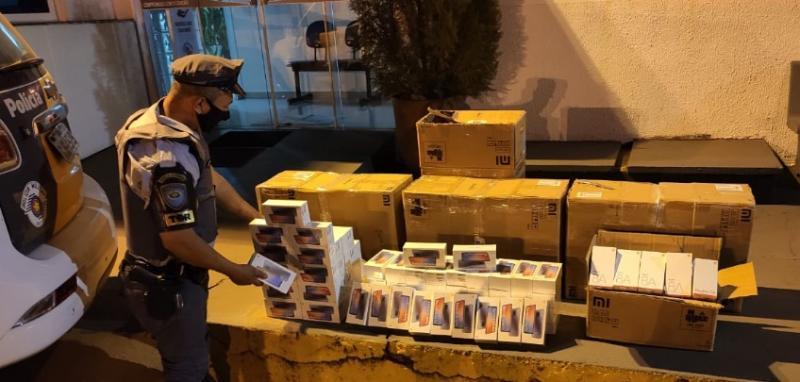 Produtos sem documentação somaram R$ 100 mil