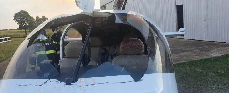 Corpo de Bombeiros - Circunstâncias do acidente estão sendo investigadas