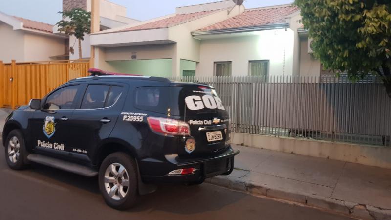 Polícia Civil - Na região de Prudente houve cumprimento de mandados