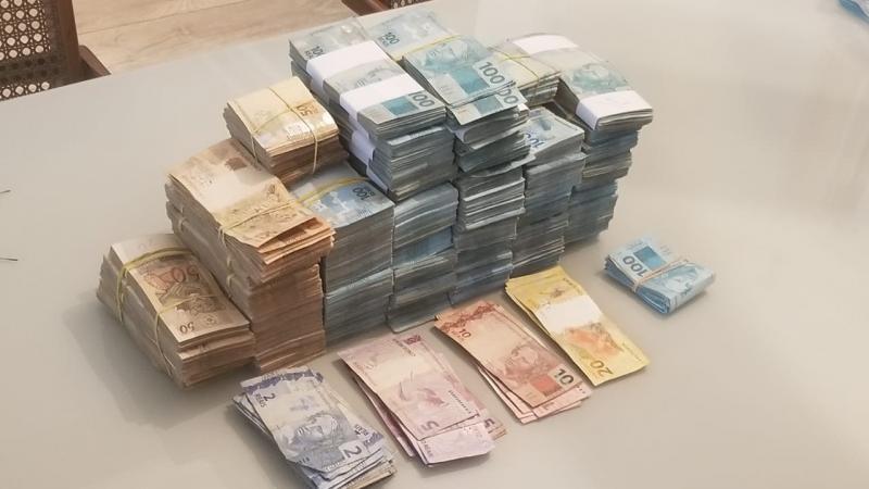 Polícia Civil - Operação resultou na apreensão deR$1.200.000