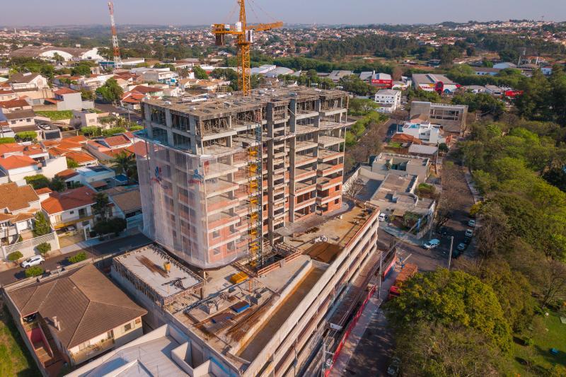 Cedida - Edifício Neo Petrópolis será finalizado, conforme a Mampei Funada, em meados de 2021