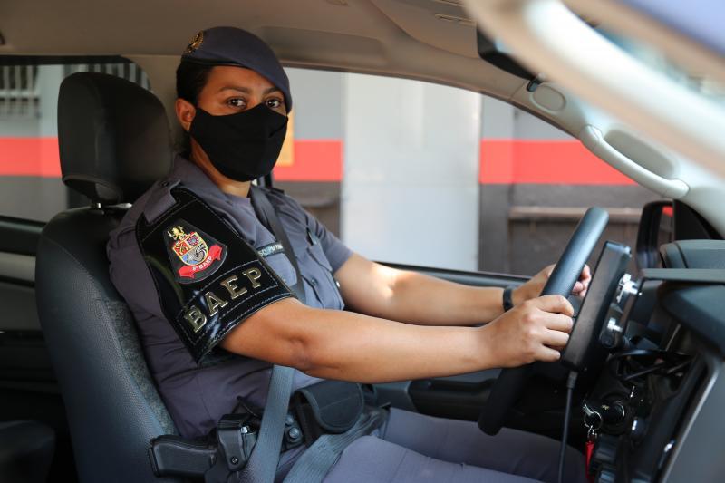 Roberto Kawasaki - Soldado Fama se especializou no curso de motorista