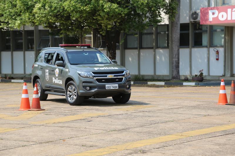 Roberto Kawasaki - Baep é equipado com viaturas Chevrolet Trailblazer