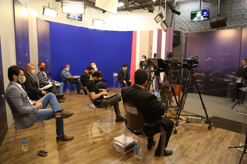 Debate foi transmitido ao vivo pela TV Band Paulista