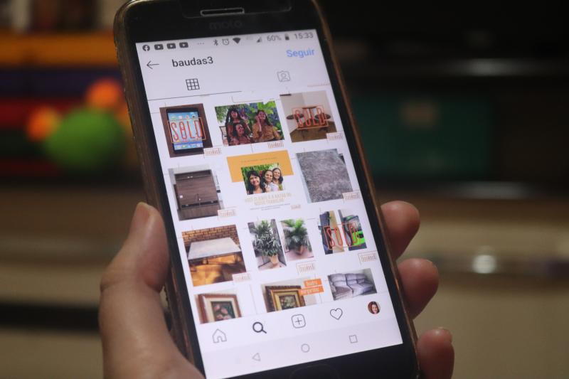 Marco Vinicius Ropelli - No Instagram do Baúdas3, todos os produtos da empresa estão descritos e precificados