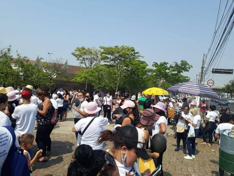 Cedida - Encontro de manifestantes ocorreu em São Paulo