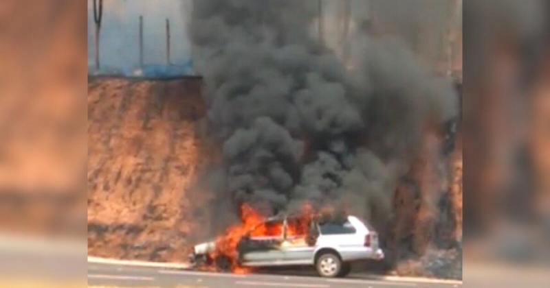 Reprodução - Apesar do susto, incêndio não deixou vítimas