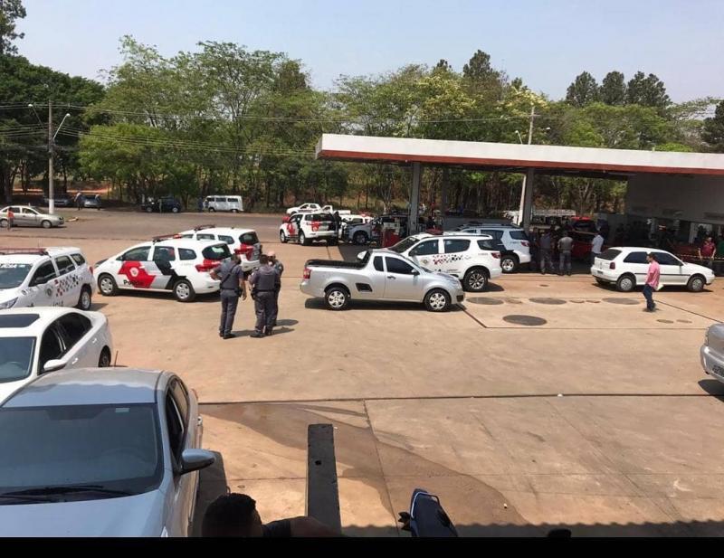 Reprodução/Facebook Geraldo Gomes - Veículo foi abordado no município de Tarabai