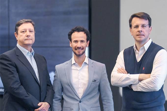 Trio está na última edição da revista Exame, que destaca seu alinhamento com o Banco BTB Pactual desde abril,
