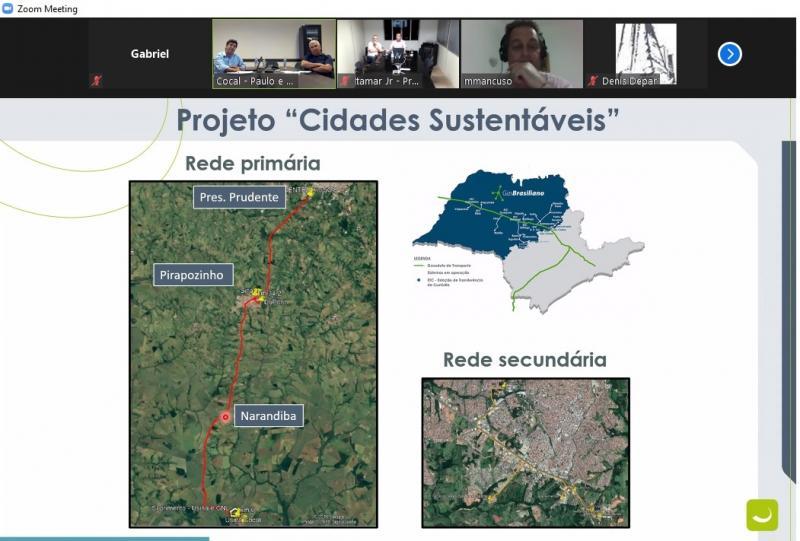 Reprodução - Narandiba, Prudente e Pirapozinho serão os primeiros abastecidos com biometano na região