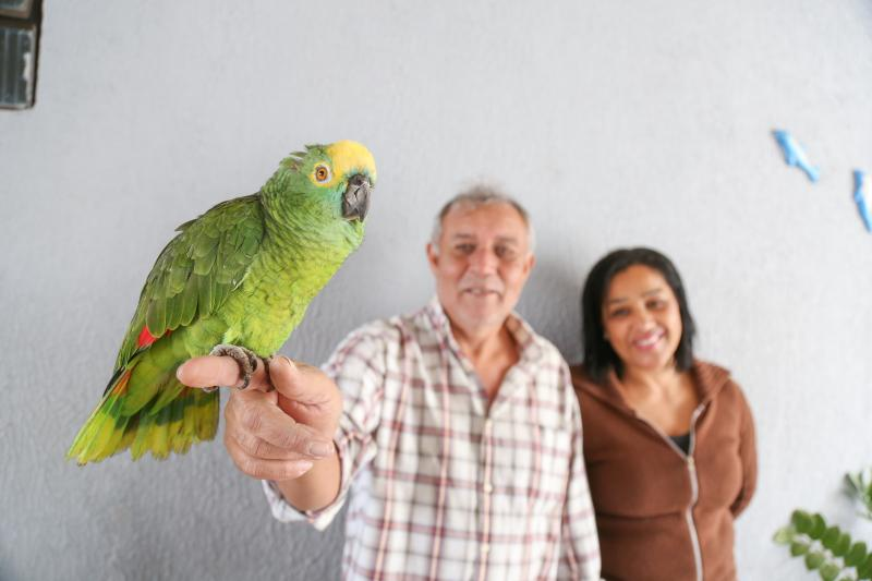 Arquivo/Weverson Nascimento - Lourinha está com a família 24 anos