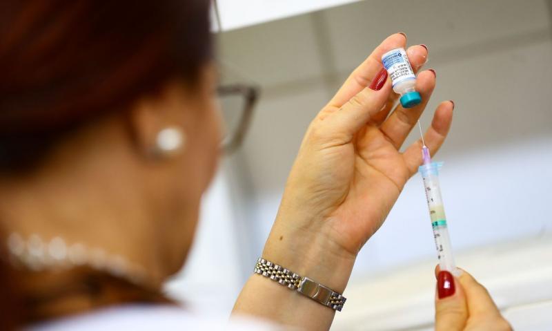Marcelo Camargo/ABr - Vacinação ocorre das 8h às 16h30