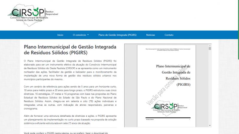 Reprodução - Interessados podem encaminhar sugestões na página do Cirsop