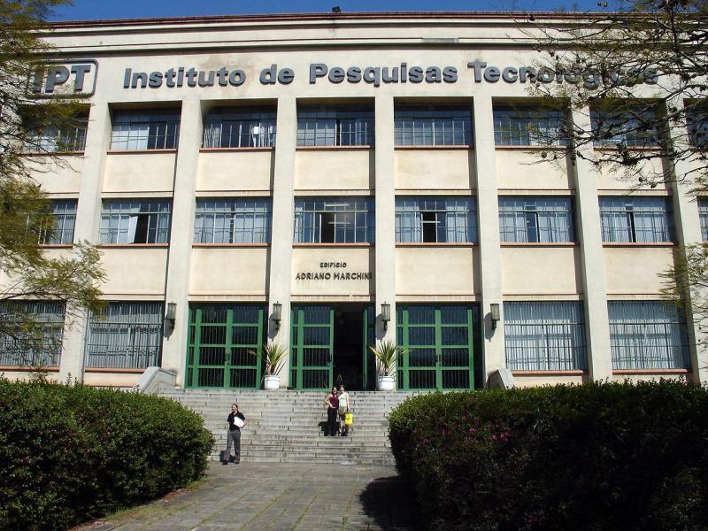 Cedida -Sede do Instituto de Pesquisas Tecnológicas fica em São Paulo