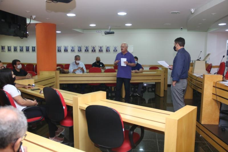 AI da UEPP - Reunião ontem fechou os detalhes da sabatina e sorteou os candidatos de cada bloco