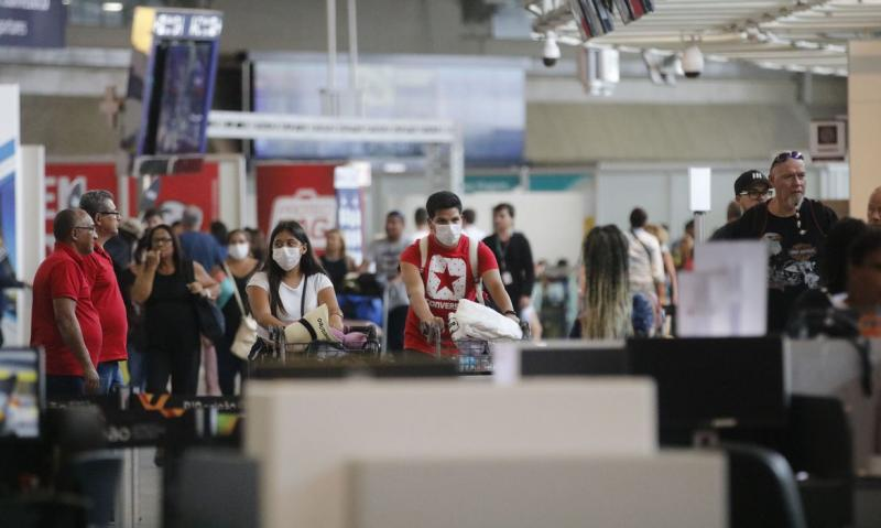 Fernando Frazão/ABr - Levantamento foi realizado a partir de informações coletadas junto aos principais aeroportos do Brasil