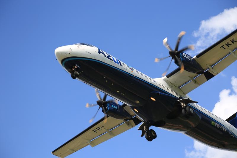 Arquivo - Cliente que adquirir um pacote da Azul Viagens poderá voar para Porto Seguroe Maceió