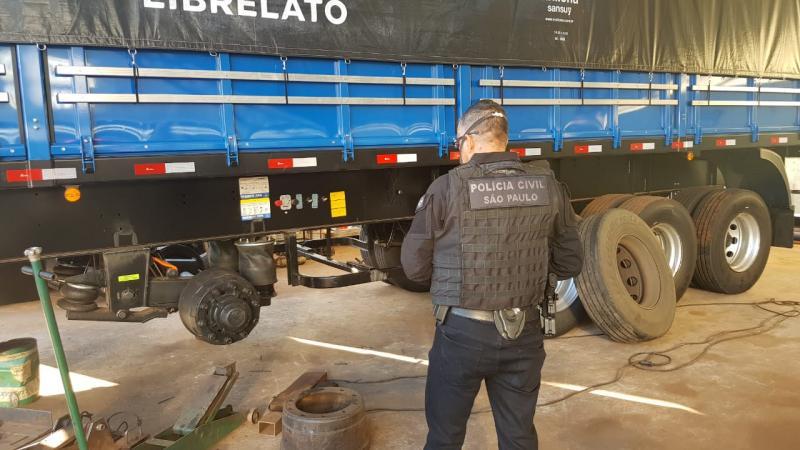 Polícia Civil - Buscas também ocorrem em cidades da região de Presidente Prudente