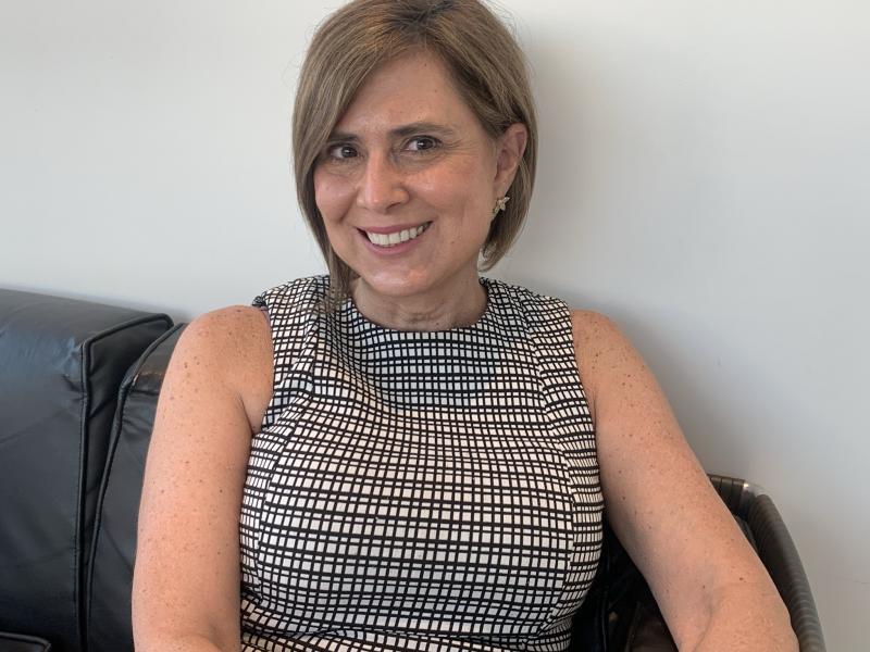 Maristela Rodrigues de Oliveira passou a semana em Presidente Prudente