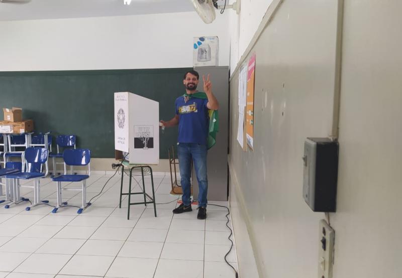 Cedida - Piai está satisfeito com a campanha realizada pelo seu partido nas últimas semanas