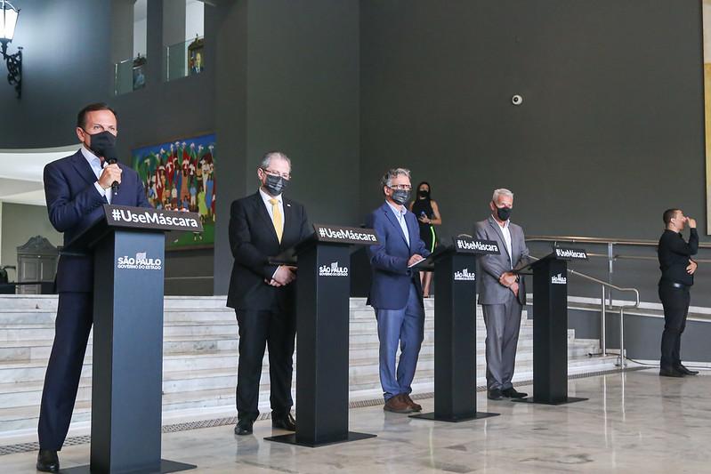 Governo do Estado - Doria anunciou adiamento da nova atualização do Plano São Paulo