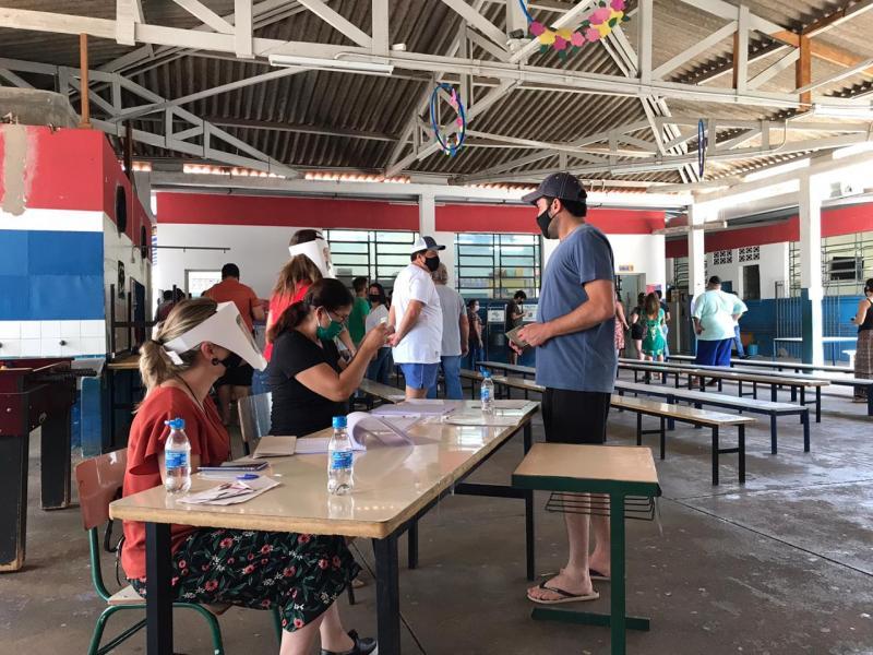 Arquivo - No domingo, mais de 670 mil eleitores estavam aptos ao voto na região